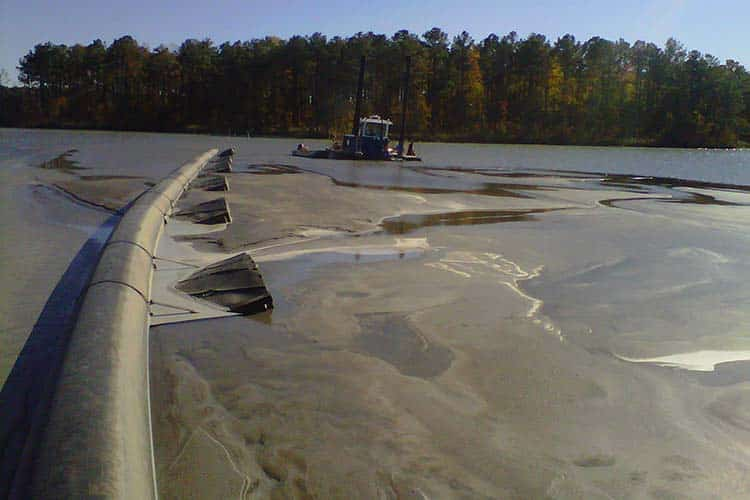 Carter dredging ii inc 46 years dredging and for Design of ash pond